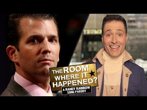 THE ROOM WHERE IT HAPPENED - Randy Rainbow Song Parody