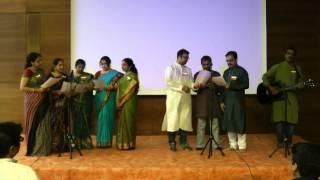 Kannada Rajyothsava celetion Hamburg 2014-Hachevu kannadada deepa