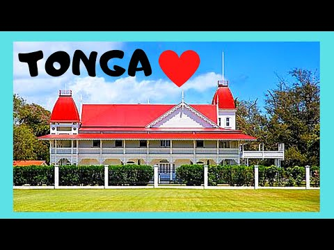 TONGA, a WALKING TOUR of its beautiful capital of NUKU'ALOFA (Pacific Ocean)