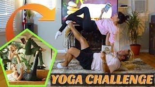 COUPLES YOGA CHALLENGE!! Video