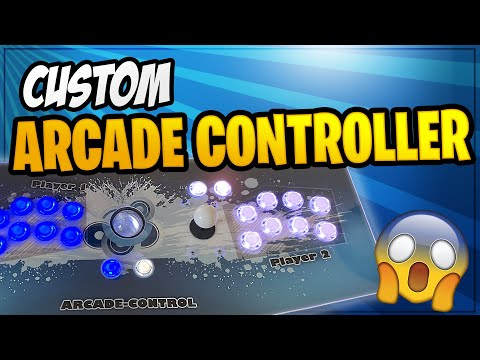 Arcade Controller for PC – MAME/HYPERSPIN/LAUNCHBOX/BIGBOX