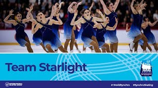 Team Starlight (SUI)   Helsinki 2019   #WorldSynchro