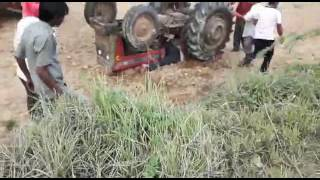 Repeat youtube video It's only happend in India. ...... save life from tractor accident