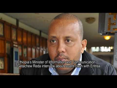 Ethiopian Information Minister Getachew Reda Faces A Protest In