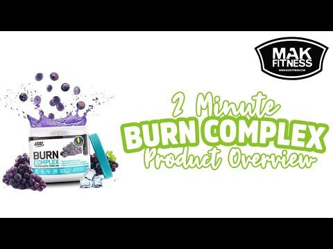 Burn Complex  – Optimum Nutrition Fat Burner – 2 Minute Overview   MAK Fitness