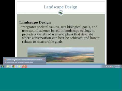 Webinar: Landscape Design Process in the Playa Lakes Joint Venture Region