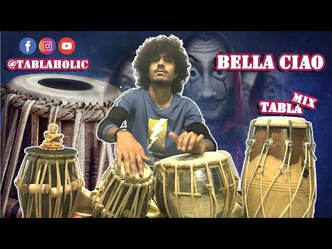 BELLA CIAO | MONEY HEIST | TABLA COVER | Kartik Rathore Tablaholic