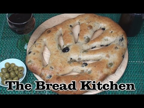 Traditional Fougasse Recipe in The Bread Kitchen