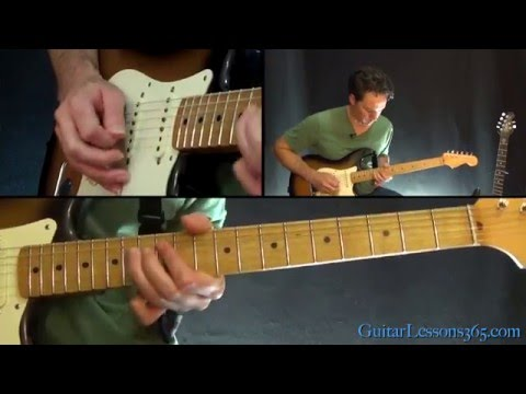 Lenny Guitar Lesson (Part 3) - Stevie Ray Vaughan