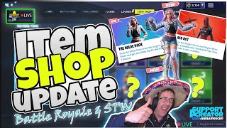 💥MenamesCho's LIVE 🔵 *NEW* WILDE PACK ♻ ITEM SHOP UPDATE ✨ Fortnite Battle Royale - 4th June 2019
