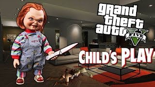 GTA 5 Mods - CHUCKY 'KILLER DOLL' MOD! (GTA 5 Mods Gameplay)