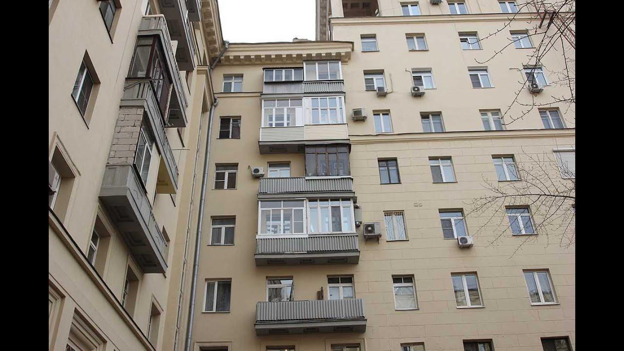 Остекление балкона в сталинских домах.