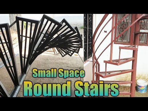 How To Installing Stairs Building Outdoor Iron Staircase Youtube | Iron Stairs Design Outdoor | Victorian | Curved Staircase Carpet | Cast Iron | Baluster Curved Stylish Overview Stair | Build Outdoor Stair