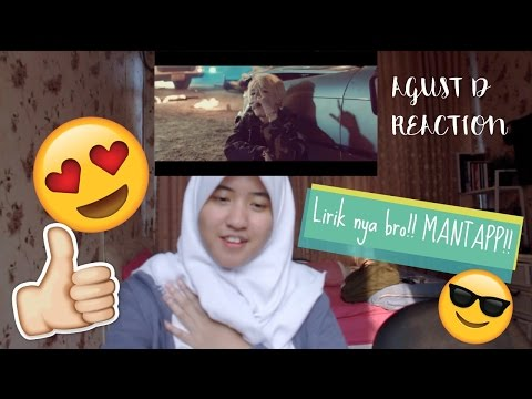 AGUST D - Agust D & Give It To Me // MV REACTION (Indonesia)