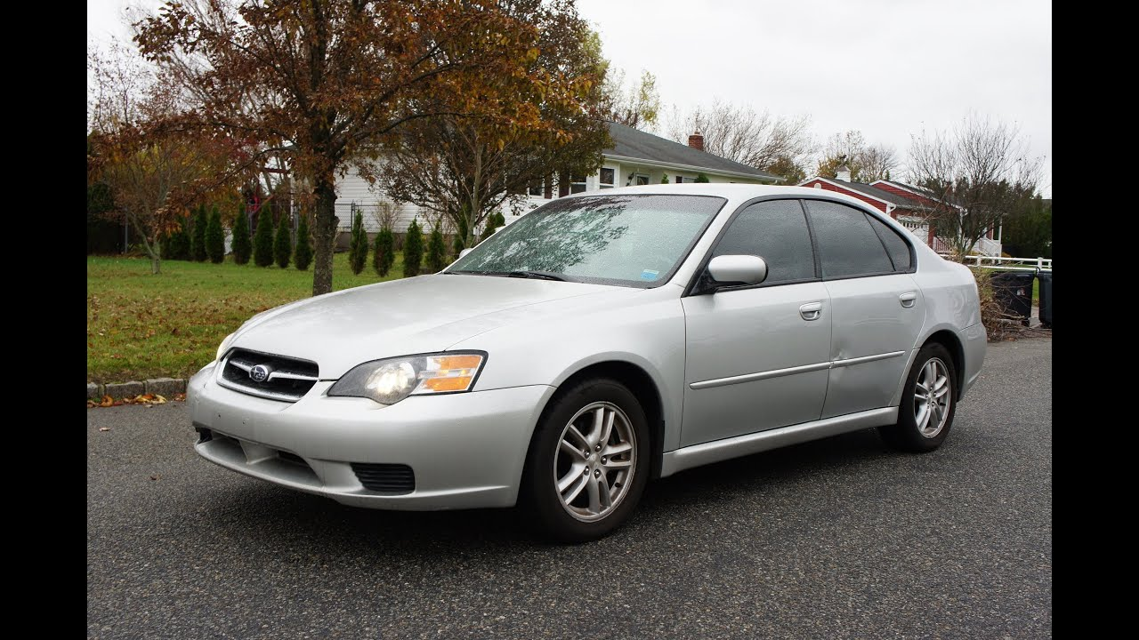 2005 subaru legacy 2 5 sedan for sale 5 speed manual runs great  [ 1280 x 720 Pixel ]
