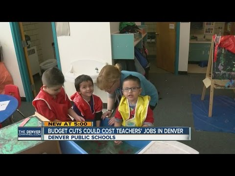 Budget cuts could cost teachers' jobs in Denver