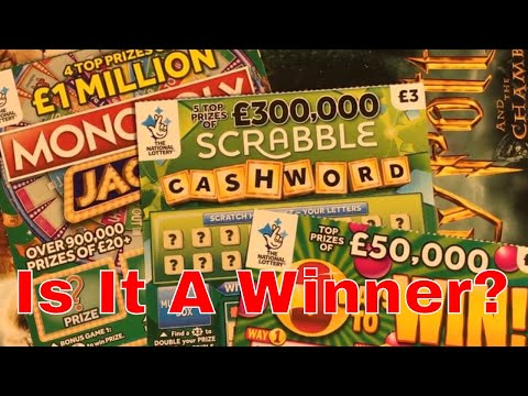 Winning ? Video From National Lottery Sratch Cards By NL Dreams (011)