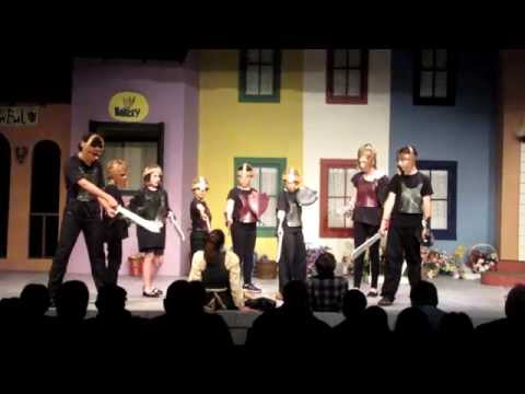 The Invisible Village ACT one at The Whidbey Playhouse 2014