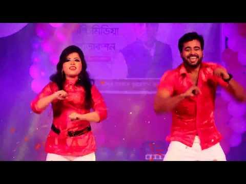 আকাশেতে লক্ষ তারা | Akashete Lokhoh Tara | Music Video Bangla | Stage Dance  | Priyojon Tv