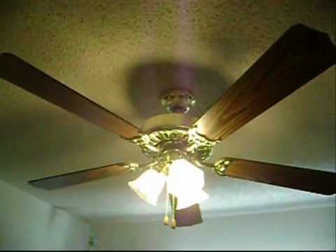 Kmart Heritage Lancaster ceiling fan - YouTube