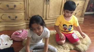 Khyra and Qaish gifts from London | Dynas Mokhtar