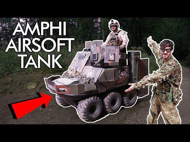 Custom build AMPHI Airsoft TANK