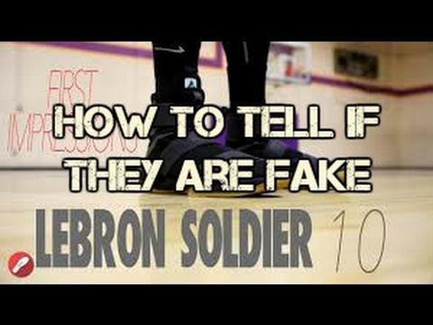How do i know if a soldier is real