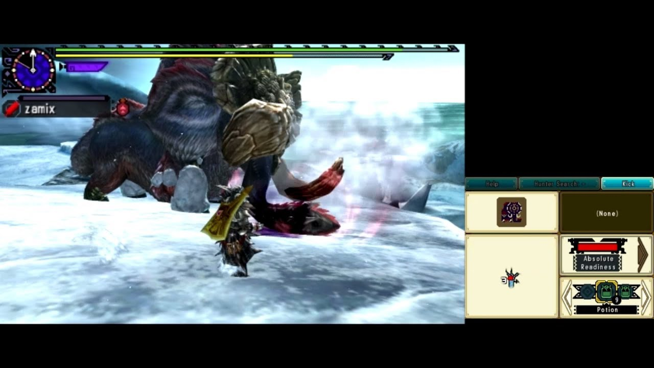 {MHXX} | G4 Hyper Gamoth | Solo Brave GS | 17'13 | Citra 3DS by Dusted