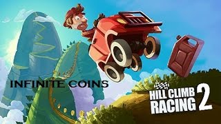 Repeat youtube video HILL CLIMB RACING 2 - CHEATS (infinite diamonds and coins)