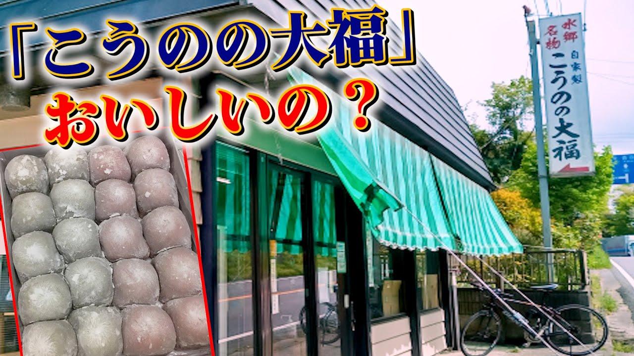 【茨城モヤモヤ】水郷名物の「こうのの大福」って美味しいの?