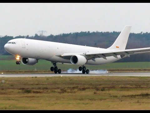 Prototype Testflight A330P2F Passenger to Freighter conversion
