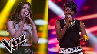 Vera canta 'Firework' y Darlin canta 'Price tag'   Súper Batallas   La Voz Teens Colombia 2016