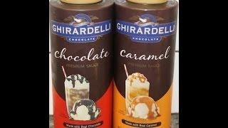 Ghirardelli Premium Chocolate Sauce & Caramel Sauce Review