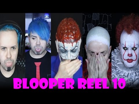 I f**cked up.. again.. Blooper Reel 10! - The colourful language of a Makeup artist!