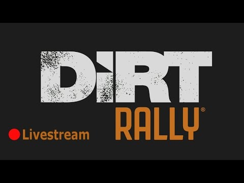 Dirt Rally, night time, no headlights.