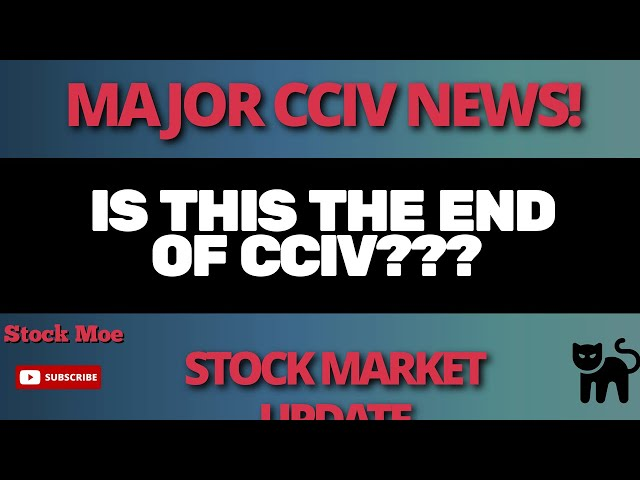 IS THIS THE END OF CCIV?   IS THERE A STOCK MARKET CRASH COMING? NIO STOCK PRICE UPDATE