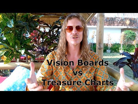 Vision Boards vs Treasure Charts