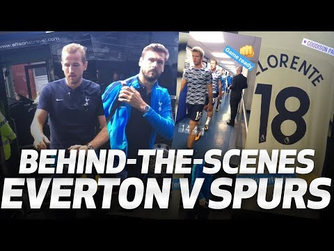 BEHIND-THE-SCENES | Everton 0-3 Spurs
