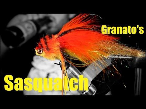 Fly Tying:Nick Granato's Sasquatch