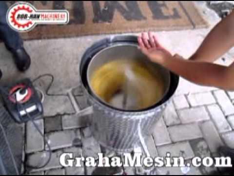 Mesin spinner minyak mesin peniris minyak - YouTube c367db849f