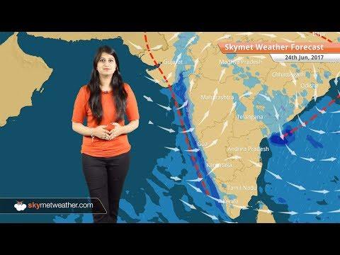 [Hindi] 24 जून मौसम पूर्वानुमान: पूर्वी उत्तर प्रदेश, बिहार और पूर्वोत्तर राज्यों में बारिश के आसार