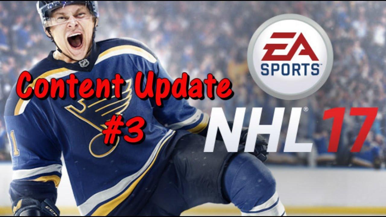 5f3085bd08c NHL 17 Content Update #3 (NHL 17 HUT Gameplay) - YouTube