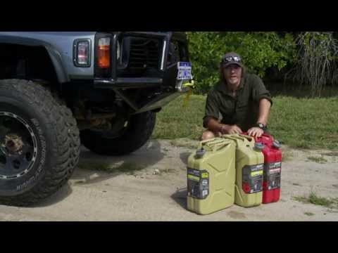 PRO QUIP METAL JERRY CANS - FEATURING THE *NEW* TWIST CAP SUPER CAN
