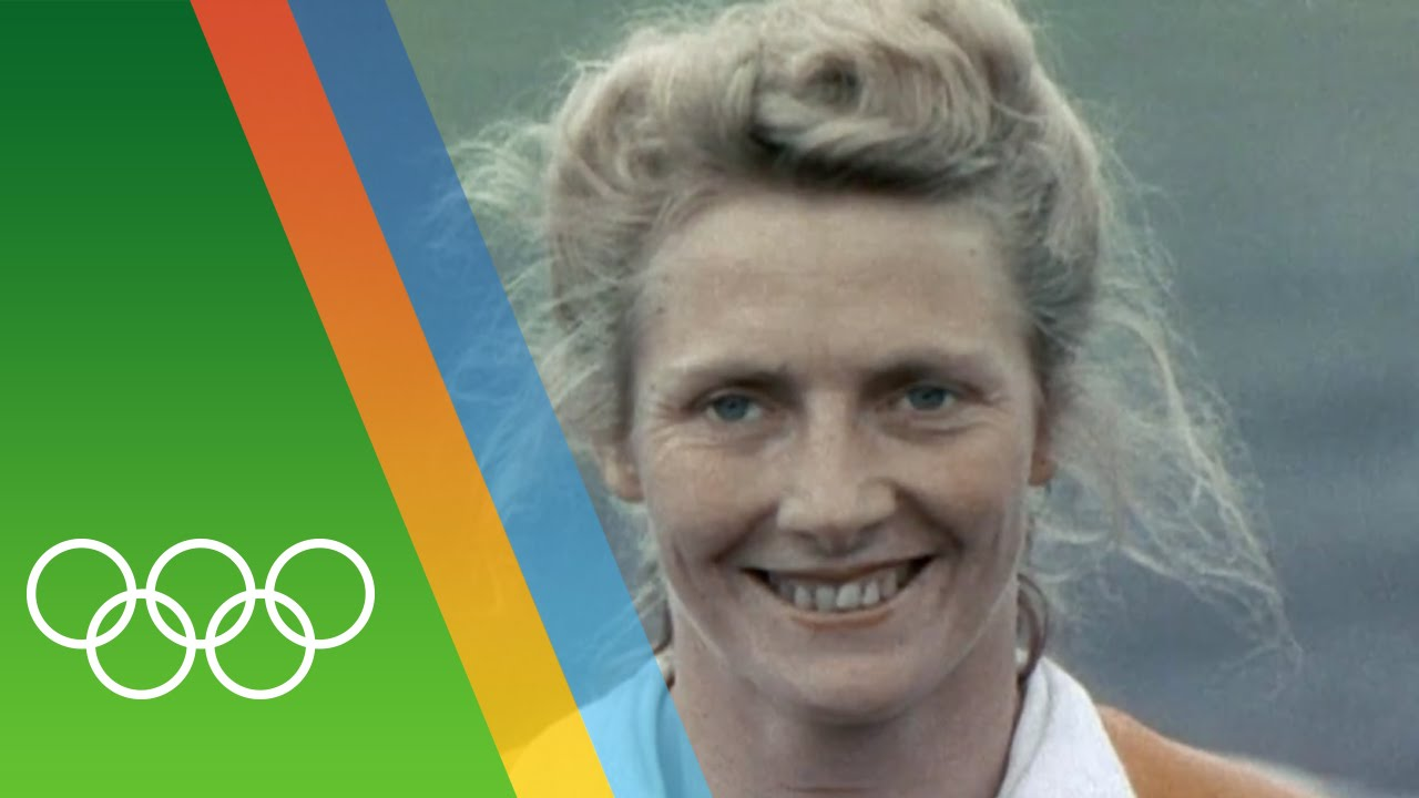 Fanny Blankers-Koen at London 1948 | Epic Olympic Moments ...