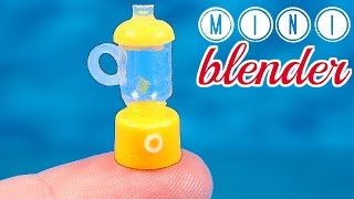 DIY Miniature Blender