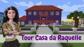 CASA DA RAQUELLE (Barbie Dream House) - Minecraft