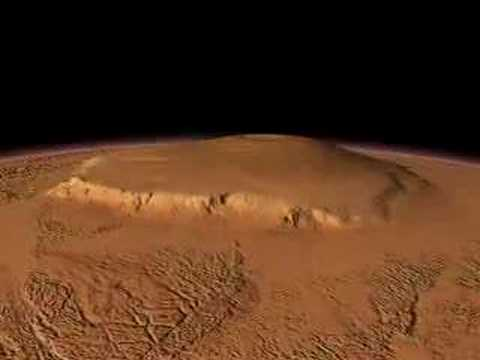 Olympus Mons, Martian Volcano