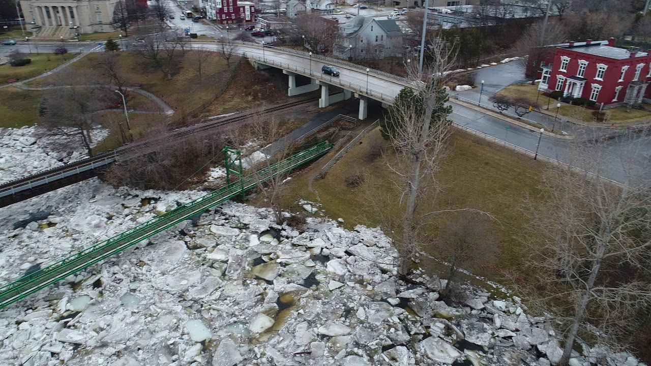 City of Plattsburgh Saranac River Ice Jam B
