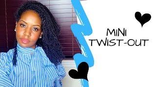 ღ Mini TwistOut / Mini Twist Take-Down - Natural Hair ღ