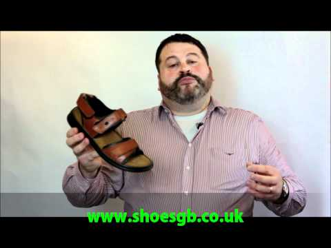 Josef Seibel 'Rafe' Mens Classic Sandal Reviewed By Mark Bates For The ShoesGB Network.